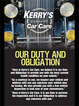 Kerry's Car Care - Mariposa Gallery Image